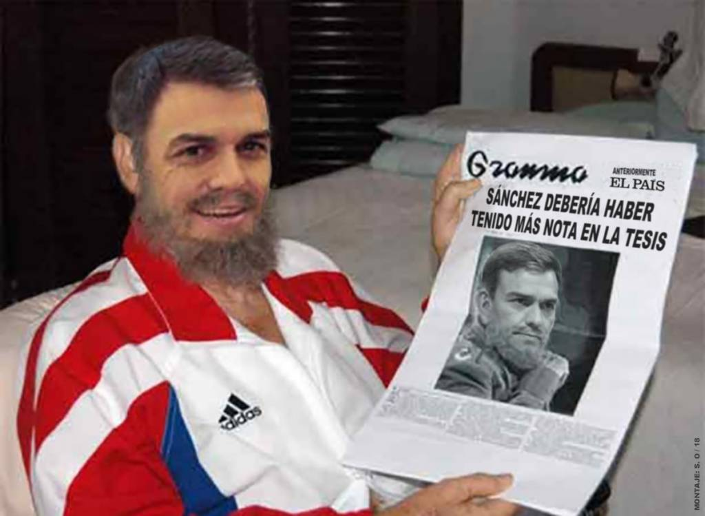 Calvo propone limitar la libertad de expresión de los medios en plena crisis del Gobierno del Doctor No. Por Santi Orue