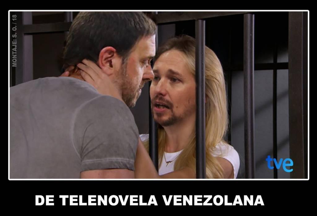 Iglesias se reunirá con Junqueras en prisión para negociar los presupuestos. Por Santi Orue