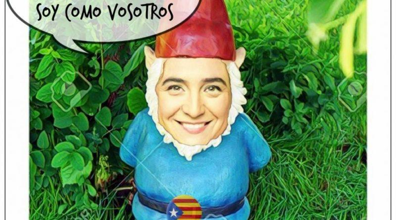 Inmaculada ya se está probando los disfraces para las elecciones municipales. Por Linda Galmor