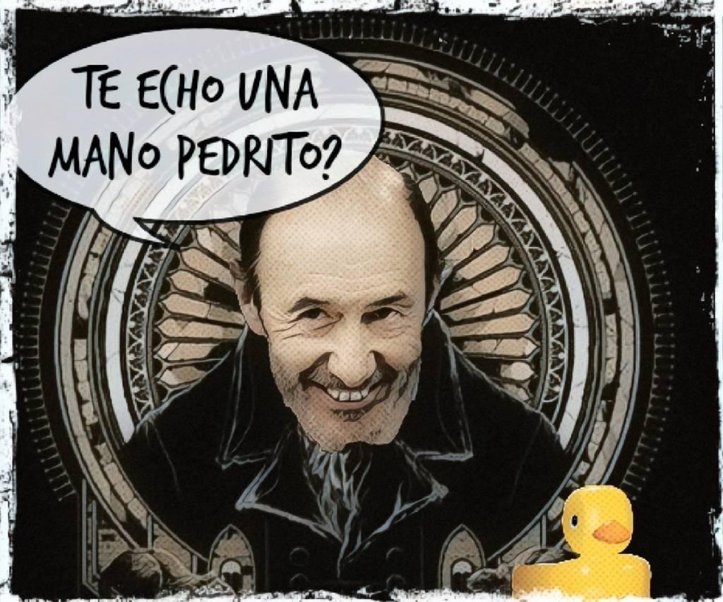 Mientras tanto, en el Área 51 del PSOE... Por Linda Galmor