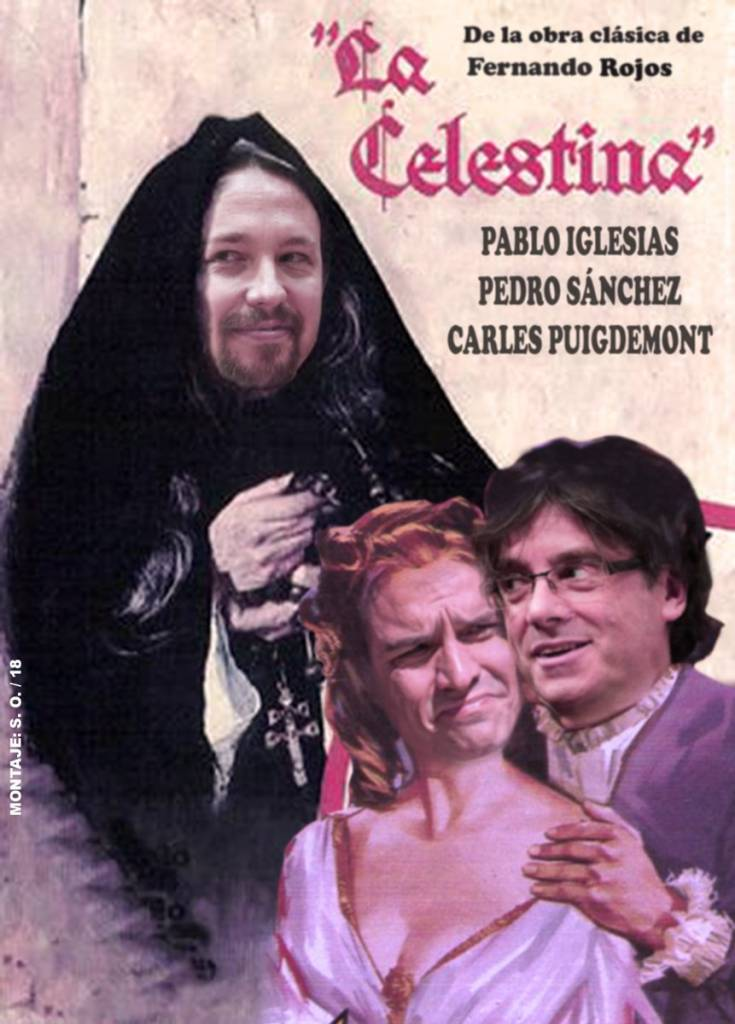 """Pablo Iglesias llama a Puigdemont y lo sitúa como """"interlocutor importante"""". Por Santi Orue"""