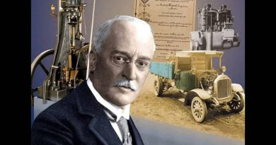 RUDOLF DIESEL (1858-1913), inventor del DIABÓLICO motor que lleva su nombre, DIESEL