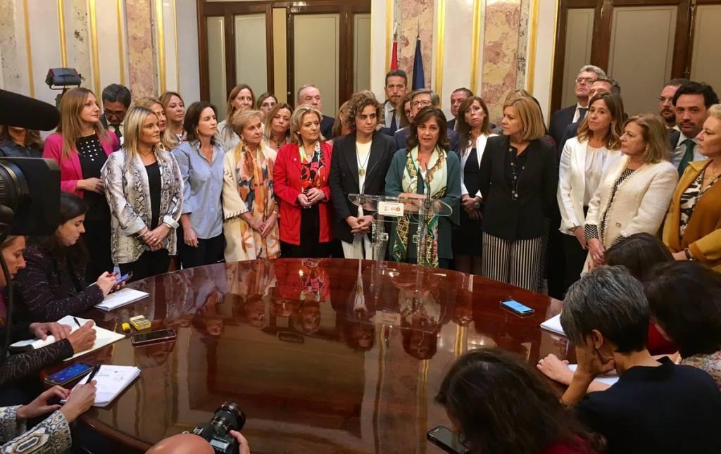 Pero resulta mucho peor que las mujeres en general que estaban presentes durante la vejación a Beatriz Escudero, no hayan alzado la voz como hienas