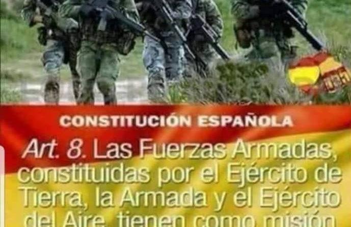 artículo 8 de la Constitución.