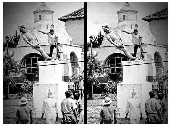 la estatua de Don Diego de Mazariegos y Porres en Chiapas, como fundador de la ciudad