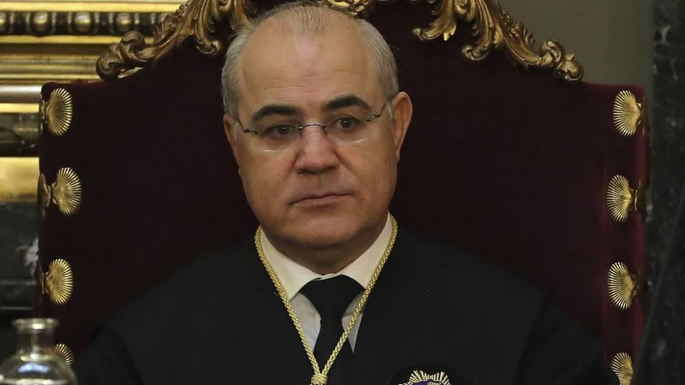 El magistrado del Supremo Pablo Llarena