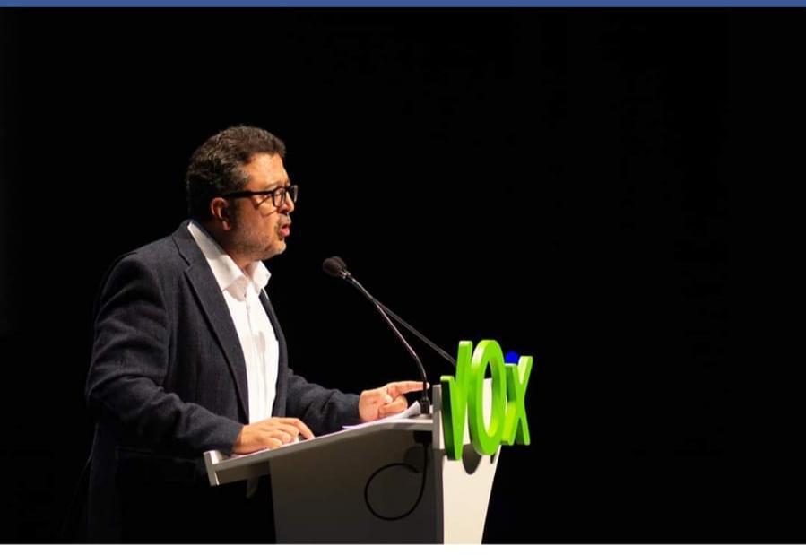 Francisco Serrano. Candidato a la Presidencia de la Junta de Andalucía