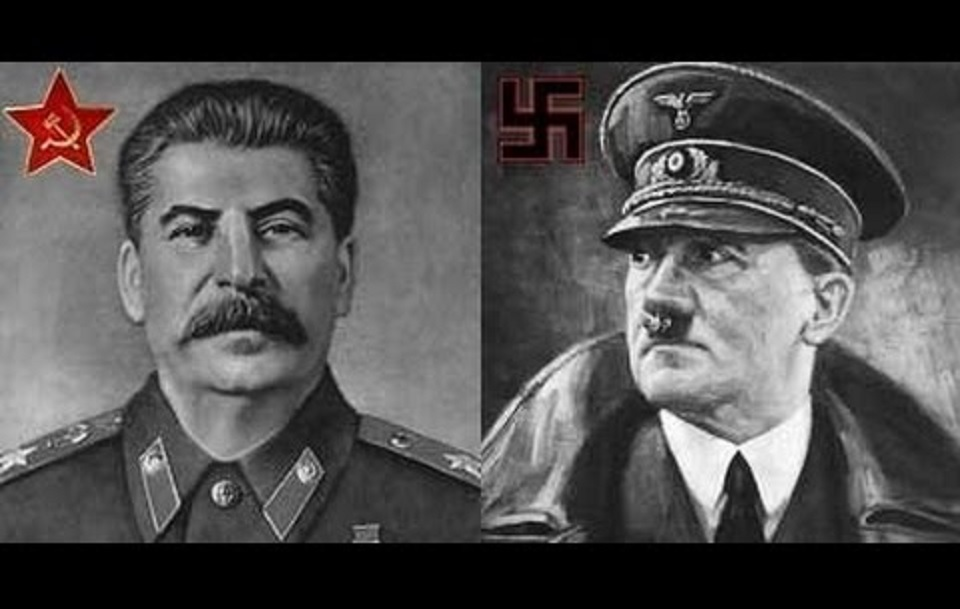 Hitler y Stalin, tal para cual