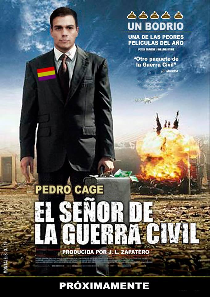 Pedro Cage,el señor de la guerra civil. Por Santi Orue