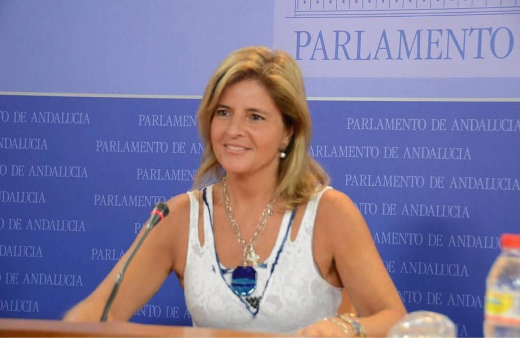 Rueda de Presna de Esperanza Oña en el Parlamento de Andalucía