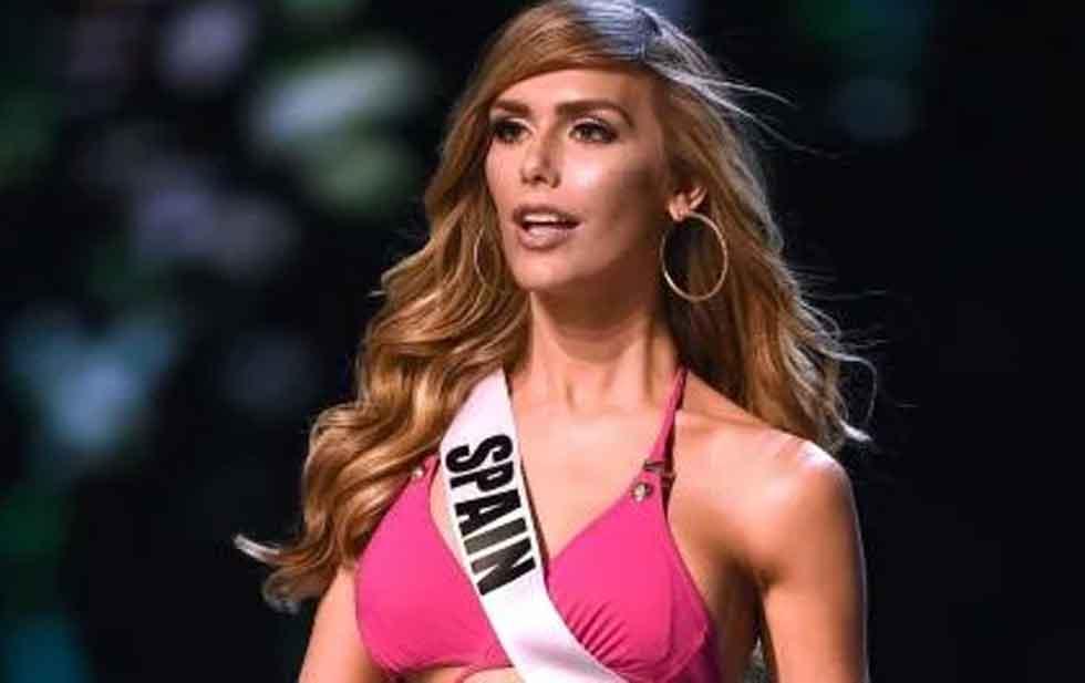 Así luce en bikini Ángela Ponce, la trans aspirante a Miss Universo