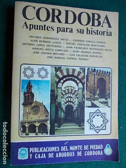 Córdoba; Apuntes para su historia