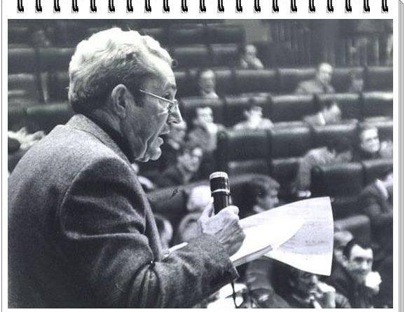 Debate de la ley de Amnistía en el Congreso del diputado comunista Marcelino Camacho