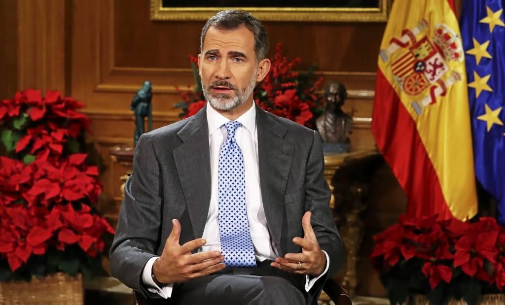 El Rey de España, Felipe VI, en su discurso de Navidad de 2017