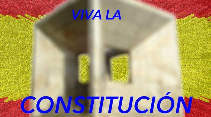 Gracias padres de la Constitución. Ilustración de Rodolfo Arévalo