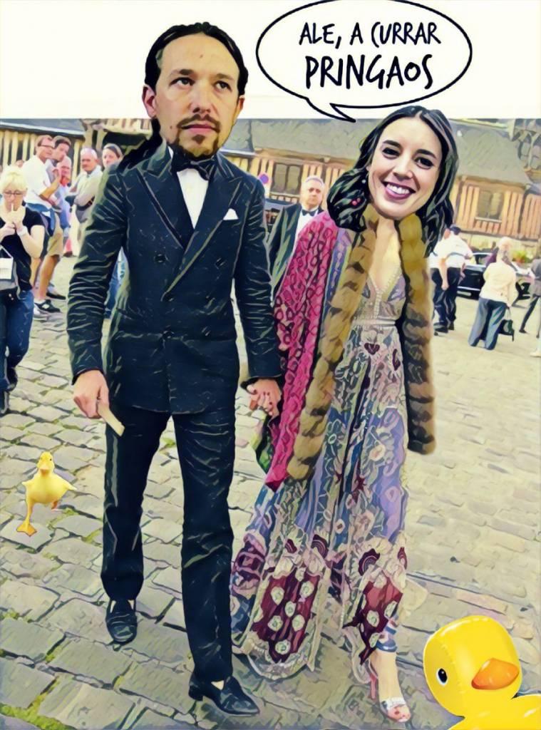 HRH The Prince of Walapagar y Señora desean un Feliz Finde. Por Linda Galmor