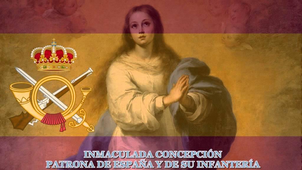 Homenaje a la gloriosa Infantería Española en el día de la Inmaculada Concepción