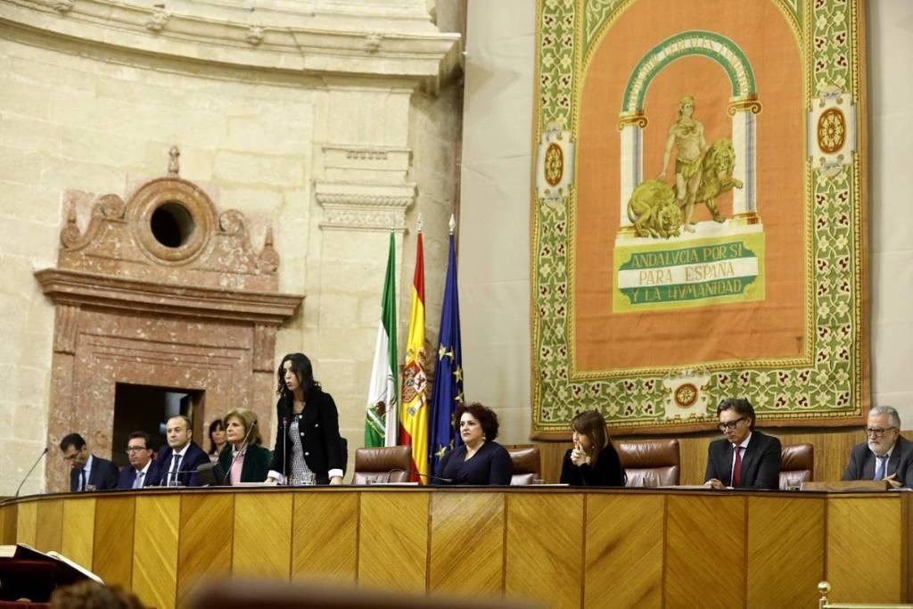 Marta Bosquet la nueva presidenta del Parlamento Andaluz