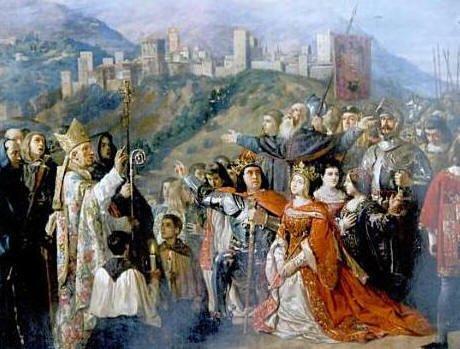 La Toma de Granada fue celebrada en toda Europa, sonando las campanas de las catedrales.