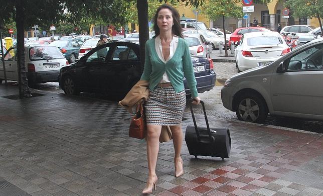 La jueza Mercedes Alaya llega a los juzgados de Sevilla