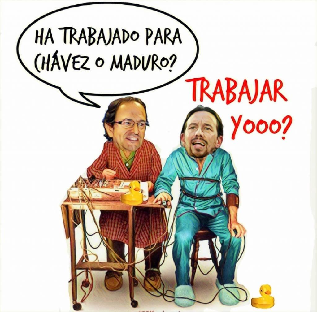 Pavo Iglesias reniega de Venezuela en su comparecencia en el Senado para divagar sobre la financiación de Podemos. Por Linda Galmor
