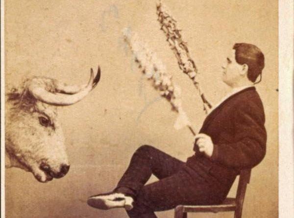 Retrato del torero Antonio Carmona (el Gordito),  Archivo del Patrimonio Histórico del Ayuntamiento de Madrid