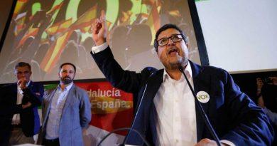 Triunfo de Vox en Andalucía al sumar doce escaños