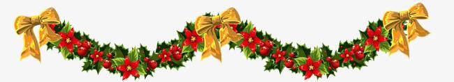 corona de navidad alargada