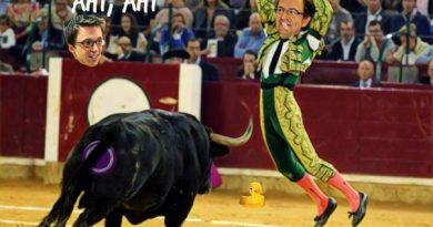 Pablo Iglesias flojeó en su comparecencia en el Senado a preguntas de Luis Aznar