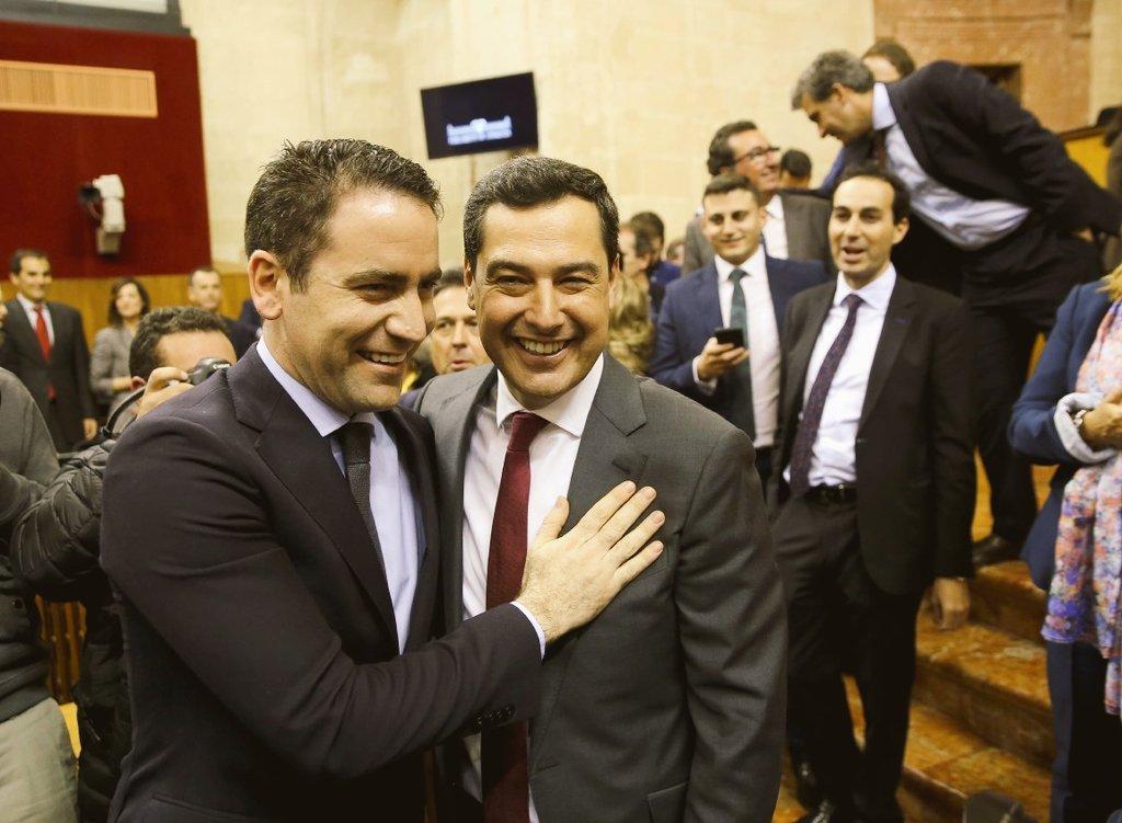 Juanma_Moreno ha hecho historia convirtiéndose en el primer presidente del Partido Popular en la Junta de Andalucía.