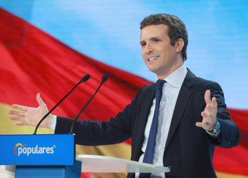 Gran discurso de Pablo Casado: A España no le va mejor con menos Partido Popular. Al revés.