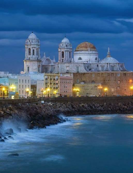 Tarde de invierno en Cádiz