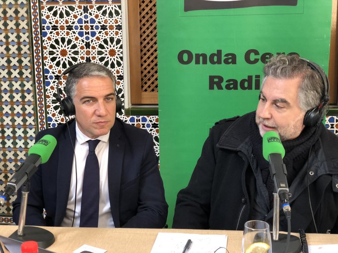 """Elías Bendodo en el programa de Carlos Alsina: """"Va a ser una legislatura estable y larga"""""""