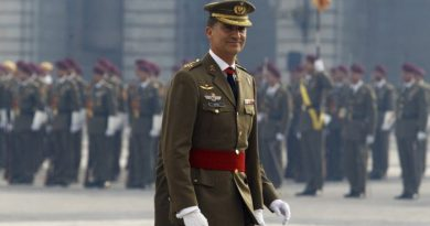 El ejercito y la Guardia Civil han rendido honores al rey Felipe VI