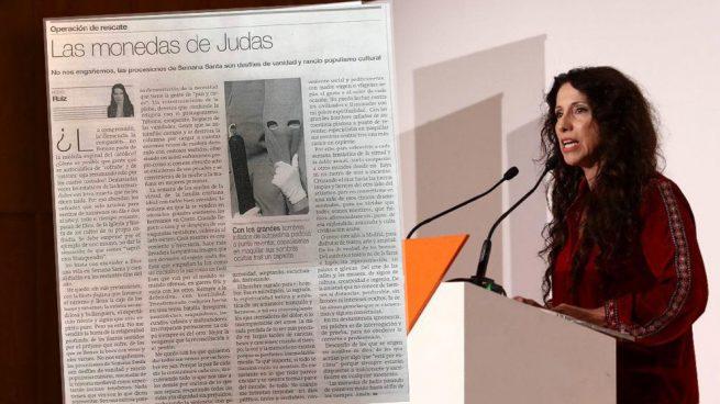 La consejera andaluzá Rocío Ruiz y su artículo sobre la Semana Santa