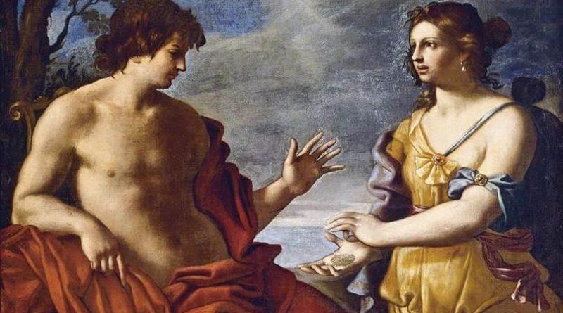 Obra de Giovanni Domenico Cerrini. Apolo y la sibilia de Cumas.... Predicciones para el 2019