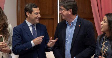 PP y Ciudadanos pactan que Vox esté en la Mesa del Parlamento andaluz y Juanma Moreno presida la Junta