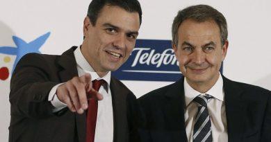 Pedro Sánchez y José Rodríguez Zapatero