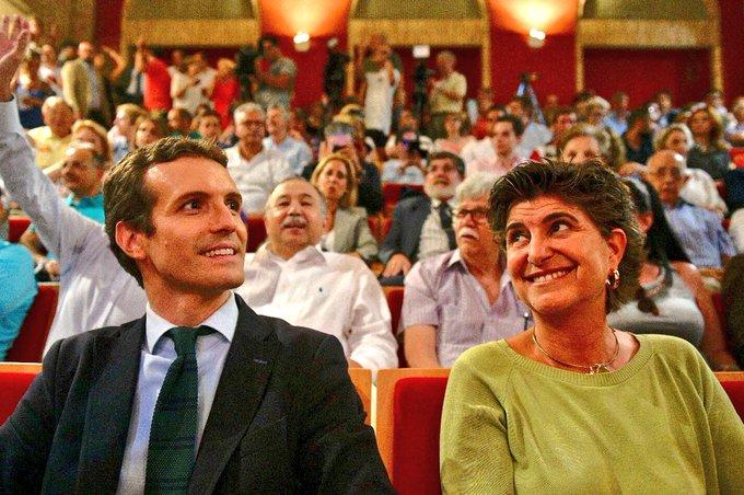 """Pablo Casado: """"Quiero un partido como el de Goyo Ordóñez y María San Gil, amplio, fuerte e integrador. Un proyecto nacional y de dignidad en defensa de la libertad"""""""
