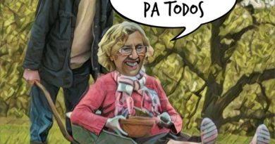 Curioso eslogan electoral de los comunistas en Madrid. Ver para creer ... Por Linda Galmor