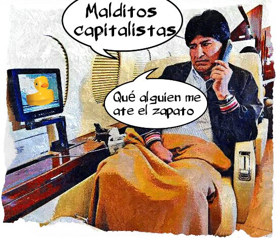El comunista boliviano está preocupado por lo que pasa en Venezuela. Linda Galmor