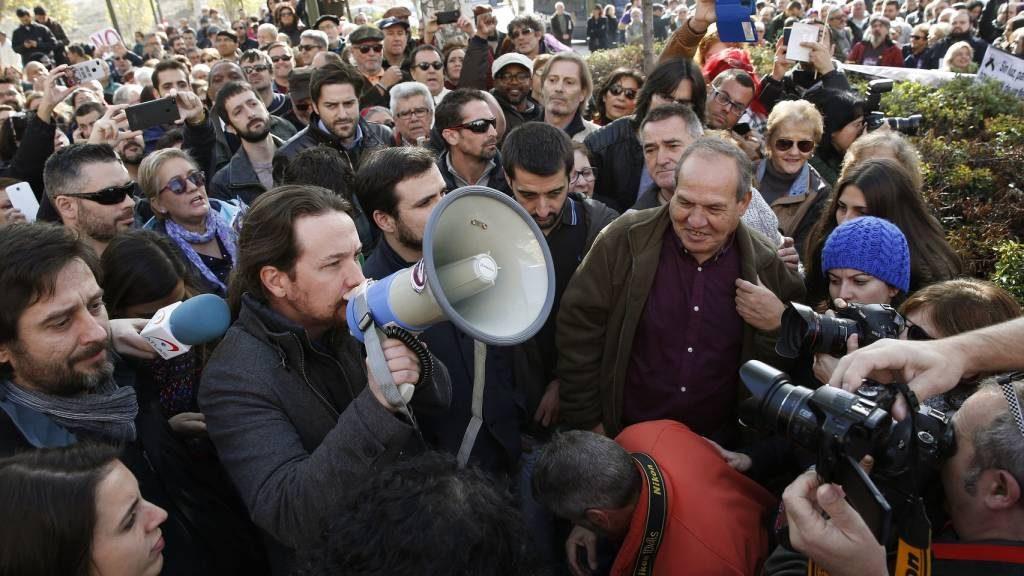 El escrache de Pablo Iglesias a Gas Natural