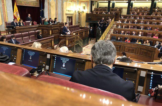"""En la comparecencia de Sanchez en el congreso """" Con la ultra derecha no se puede ir ni a la vuelta de la esquina"""" . Ya, PEDRO, pero con Bildu SÍ."""
