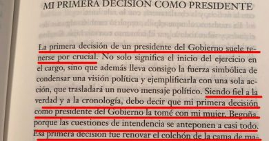 Es una de las páginas de Manual de Resistencia de Pedro Sánchez.