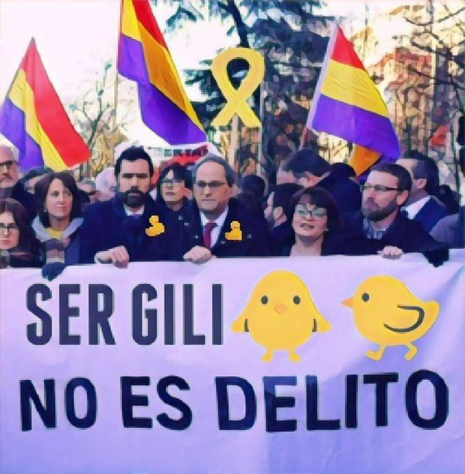 Los catalufos se reivindican ante el #TribunalSupremo en el #JuicioGolpistas. Por Linda Galmor