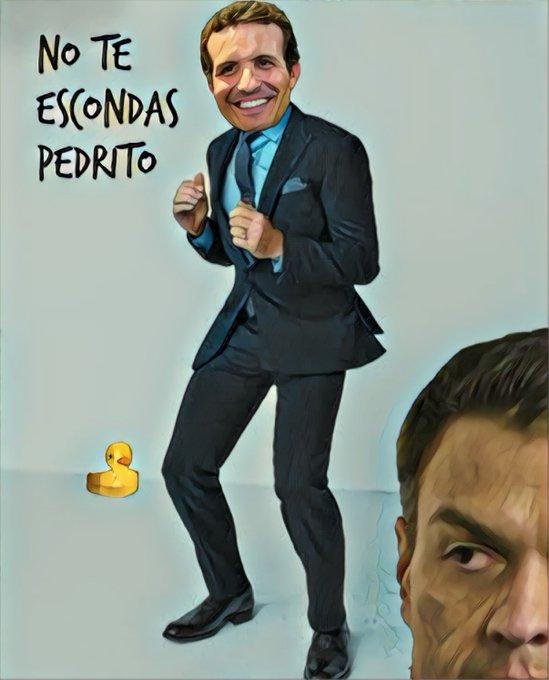 Sánchez elude el debate frente a Casado. Prefiere debates a 5. Por Linda Galmor