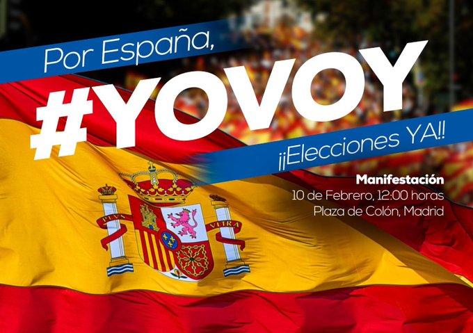 Nos vemos todos allí. Los ciudadanos y políticos que creemos en España, en su unidad y en su prestigio, tenemos una cita este domingo.