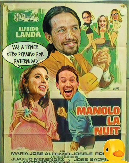 El Pavo Iglesias cambia de ser un activo de Podemos a ser un pasivo que pesa mucho. Por Linda Galmor