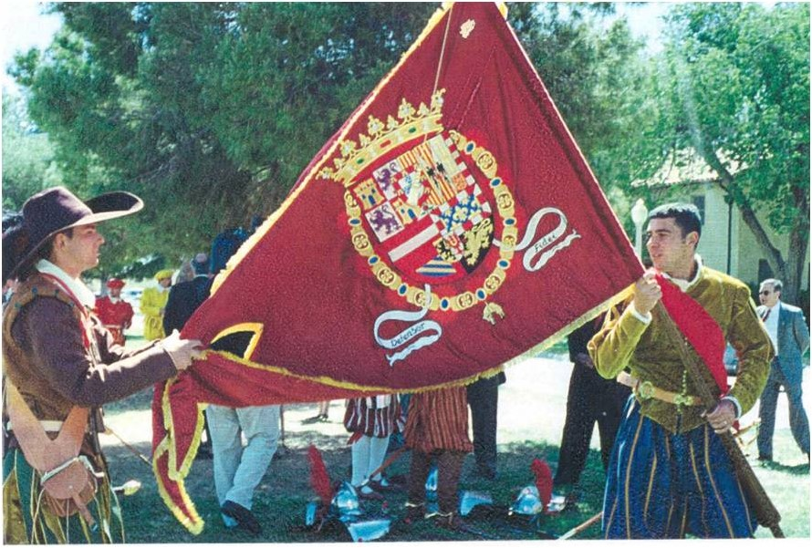 Estandarte Real de Juan de Oñate en su expedición