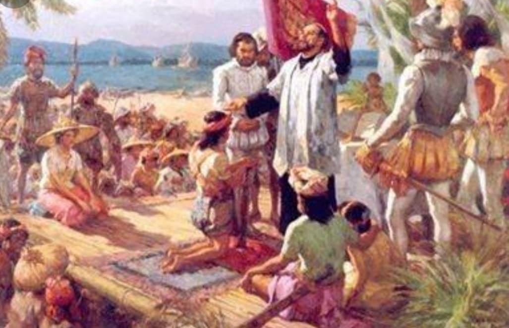 Hoy, conmemoración de la primera misa en Filipinas.